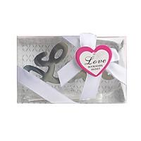Đánh Dấu Sách Bookmark Kim Loại Chữ Love