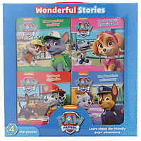 Nickelodeon Paw Patrol: 4 Board Books In A Box - Chú chó cứu hộ