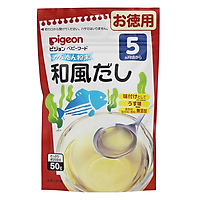 Bột nước dùng Pigeon Dashi vị Cá bào rong biển (50g) - Nhập khẩu Nhật Bản