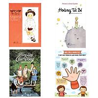 Combo 3 cuốn văn học tiểu thuyết hay: Hoàng Tử Bé  + Thung Lũng Cầu Vồng + Totto - Chan Bên Cửa Sổ + Poster an toàn