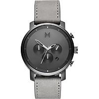 Đồng hồ Nam MVMT Dây Da - D-MC01-BBLGR