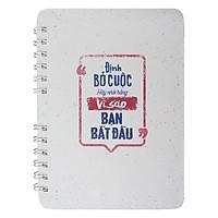 Notebook Định Bỏ Cuộc Hãy Nhớ Rằng Vì Sao Bạn Bắt Đầu