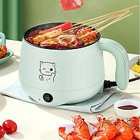 Nồi điện mini đa năng nấu cơm , nấu mỳ , nấu canh ,  lẩu D111