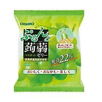 Thạch trái cây Orihiro vị nho xanh 120g