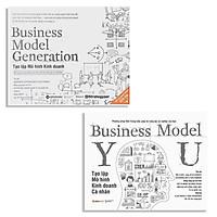 Combo Sách Giúp Bạn Xây Dựng Mô Hình Kinh Doanh Hiệu Quả : Business Model Generation - Tạo Lập Mô Hình Kinh Doanh + Tạo Lập Mô Hình Kinh Doanh Cá Nhân