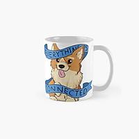 Cốc sứ uống trà cà phê cao cấp in hình cún con dễ thương- Cốc  quà tặng