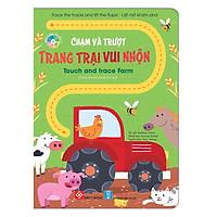 Trace The Tracks And Lift-The-Flaps! - Lật Mở Khám Phá - Chạm Và Trượt - Touch And Trace Farm - Trang Trại Vui Nhộn