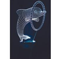 Đèn trang trí cá heo 16 màu  - Quà tặng đáng yêu LL02
