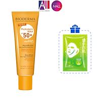 Kem chống nắng không màu Bioderma Photoderm MAX SPF50+ 40ml TẶNG mặt nạ Sexylook (Nhập khẩu)
