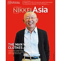 Nikkei Asian Review: Nikkei Asia - THE MAN WHO CLOTHES ASIA - 41.20, tạp chí kinh tế nước ngoài, nhập khẩu từ Singapore