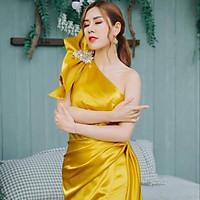 Đầm maxi body dạ hội dự tiệc sang trọng TRIPBLE T DRESS - size M/L (kèm ảnh/video thật) MS41Y