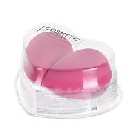 Combo 2 bọt biển trang điểm hình trái tim Miniso (Giao màu ngẫu nhiên) - Hàng chính hãng