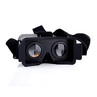New NJ Head Mount Plastic 3D VR Virtual Reality Video Glasses For iPhone5/5S/5C Black