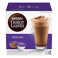 Hộp 16 Viên Nén Cà Phê Cacao Sữa Nescafe Dolce Gusto – Mocha (216 g)
