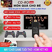 Máy chơi game cầm tay 4 nút NES 821 Game kết nối HDMI, Tay cầm không dây