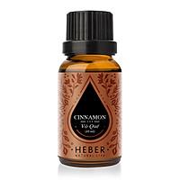 Tinh Dầu Vỏ Quế Cinnamon Essential Oil Heber | 100% Thiên Nhiên Nguyên Chất Cao Cấp | Nhập Khẩu Từ Ấn Độ | Kiểm Nghiệm Quatest 3 | Xông Thơm Phòng | Hương Dịu Nhẹ