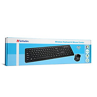 Bộ bàn phím và chuột không dây Verbatim (màu đen) - Hàng chính hãng