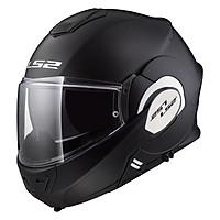Mũ Bảo Hiểm Lật Hàm LS2 FF399 Single Mono Matt Black