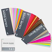 Bộ 4 thanh Tiêu chuẩn màu DIC Color Guide - 3 Thanh DIC Color Guide 123 và 1 thanh chọn màu chính hãng của DIC Coporation - Màu 1 đến 654 nhập khẩu từ Nhật dành cho ngành in ấn thiết kế