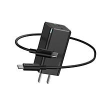 Củ sạc nhanh Baseus GaN2 Pro Quick Charger 2C+U 65W chân dẹt - Hàng Chính Hãng