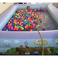 Bể bơi gia đình 255*160*60cm tặng kèm bơm điện 2 chiều