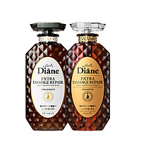 Bộ dầu gội & xả phục hồi tóc hư tổn nặng Moist Diane Extra Damage Repair (450ml*2)