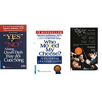 Combo 3 cuốn sách: Yes Or No - Những Quyết Định Thay Đổi Cuộc Sống + Ai Lấy Miếng Pho Mát Của Tôi + Những Nốt Nhạc Tỉnh Thức