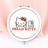 Gương gập tròn Hello Kitty Thỏ