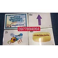 OXFORD PHONICS WORLD 1 ép plastics ️FLASHCARDS TIẾNG ANH️giáo cụ đồ dùng dạy học
