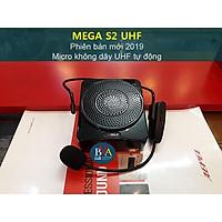 Máy trợ giảng MeGa S2 UHF, micro không dây, loa âm thanh chất lừ - hàng chính hãng