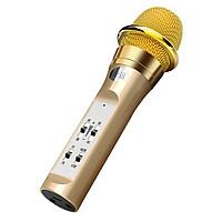 Micro Bluetooth Không Dây KTV Live Stream Cực Hot Hiện Nay PKCB S6 GOLD - Hàng Chính Hãng