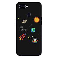 Ốp lưng dẻo cho điện thoại Oppo F9_0510 SPACE06 - Hàng Chính Hãng