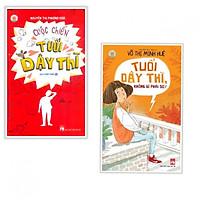 Combo sách dành cho tuổi dậy thì : Cuộc chiến tuổi dậy thì + Tuổi dậy thì không gì phải sợ- Tặng kèm bookmark Phương Đông books