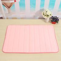 Memory Foam Mat Absorbent Slip-resistant Pad Bathroom Shower Bath Mats Red