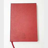 Sổ tay bìa da PU cao cấp A5 - Ruột sổ trơn 200 trang