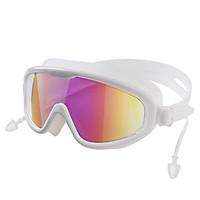 Kính Bơi Tráng Gương Dành Cho Người Lớn Và Trẻ Em HA-2208 Chống Nước, Sương Mù, Tia UV Bảo Vệ Tối Đa Đôi Mắt Của Bạn (Giao Màu Ngẫu Nhiên)