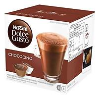 Hộp 16 Viên Nén Thức Uống Sô-cô-la Sữa Nescafe Dolce Gusto - Chococino 270.4g