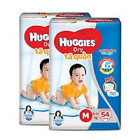 Combo 2 Tã quần HUGGIES DRY BIG JUMBO M54 - L48 - XL42 - XXL38