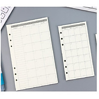 GIẤY A5 REFILL CHO PLANNER ( RESTOCK)