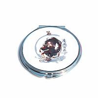 Gương mini cầm tay bỏ túi IN HÌNH Ma Đạo Tổ Sư manhua đam mĩ chibi