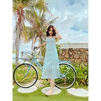 Đầm thiết kế xanh hoa nhí Agnes Dress Gem Clothing SP006162