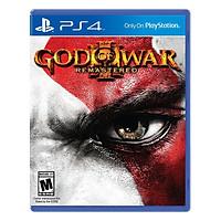 Đĩa Game PlayStation PS4 Sony God Of War 3 Remastered Hệ Asia - Hàng Nhập Khẩu