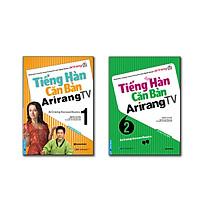 Bộ sách luyện giao tiếp tiếng hàn căn bản (Tiếng Hàn Căn Bản Arirang TV tập 1 +2) + CD