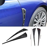2Pieces Car Plastic Front Fender Air Vent Cover Trim For  Civic 2016-18