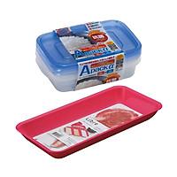 Combo Khay đựng thực phẩm nấu bếp + Set 2 hộp đựng thực phẩm chịu nhiệt lò vi sóng Apack ∝ 400ml