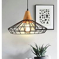 Đèn thả trang trí VERGA bao gồm bóng Led Edison ST64 - 4w