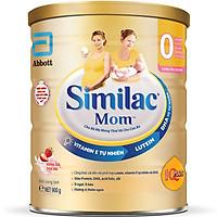 {Mẫu mới} Combo 2 Lon Sữa Bột Similac Mom Hương Sữa Chua Dâu (900g)