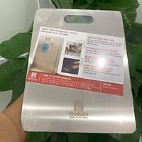 Thớt inox cao cấp 201 Foodcom chống ẩm mốc kháng khuẩn, rã đông thực phẩm nhanh chóng, hợp vệ sinh bảo vệ sức khỏe cho gia đình bạn