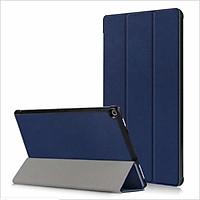 Bao Da dành cho Máy Tính Bảng Kindle Fire HD 10 - Màu xanh trơn