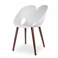 Ghế nhựa chân gỗ STOLA